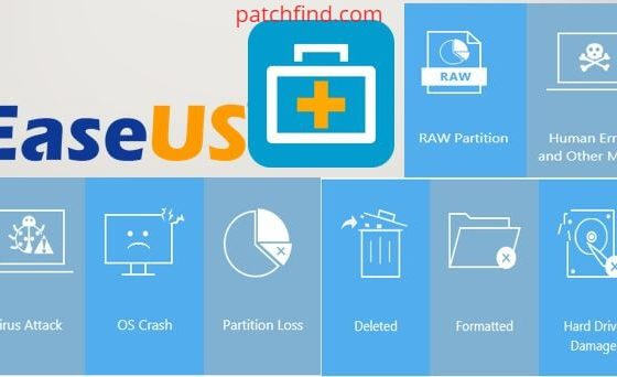 EaseUS Data Recovery Wizard 13.6 License Key + Crack