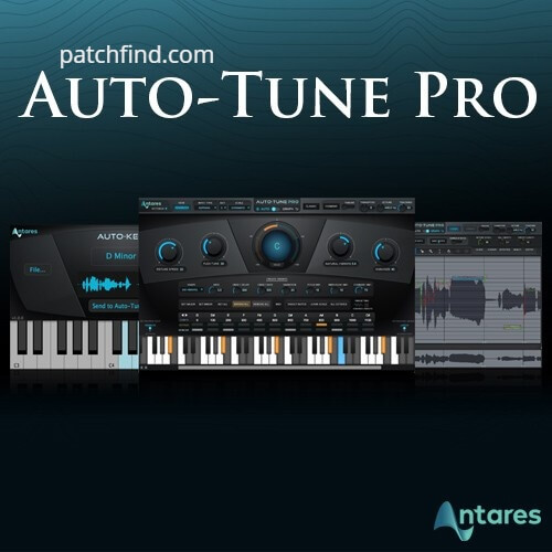 Antares AutoTune Pro 9.1.1 Crack With Serial Key 2020 logo