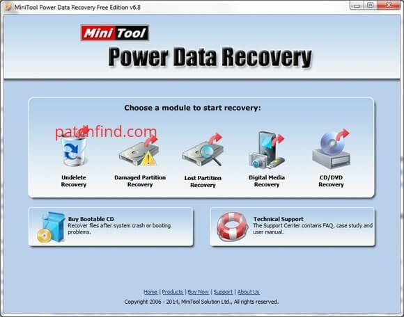 MiniTool Power Data Recovery Crack With Keygen