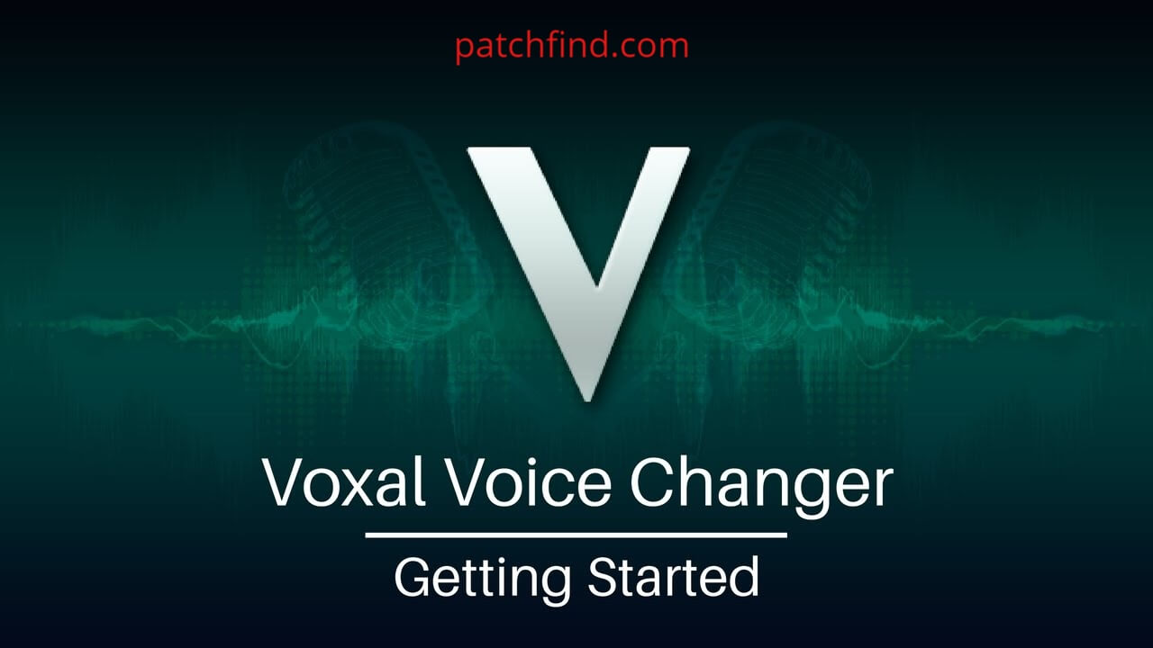Voxal Voice Changer Cracked