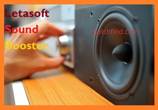 Letasoft Sound Booster crack logo