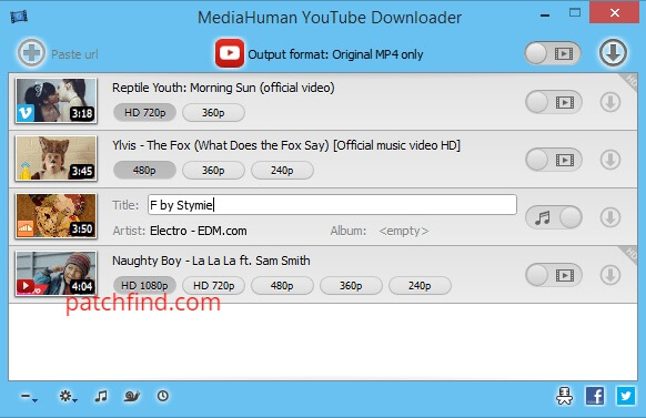 MediaHuman YouTube Downloader License key
