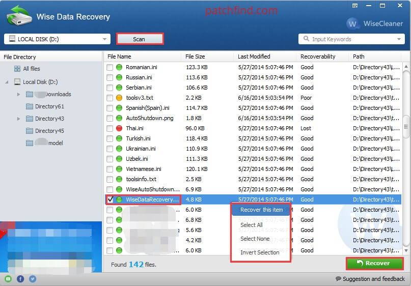 Wise Data Recovery License Key